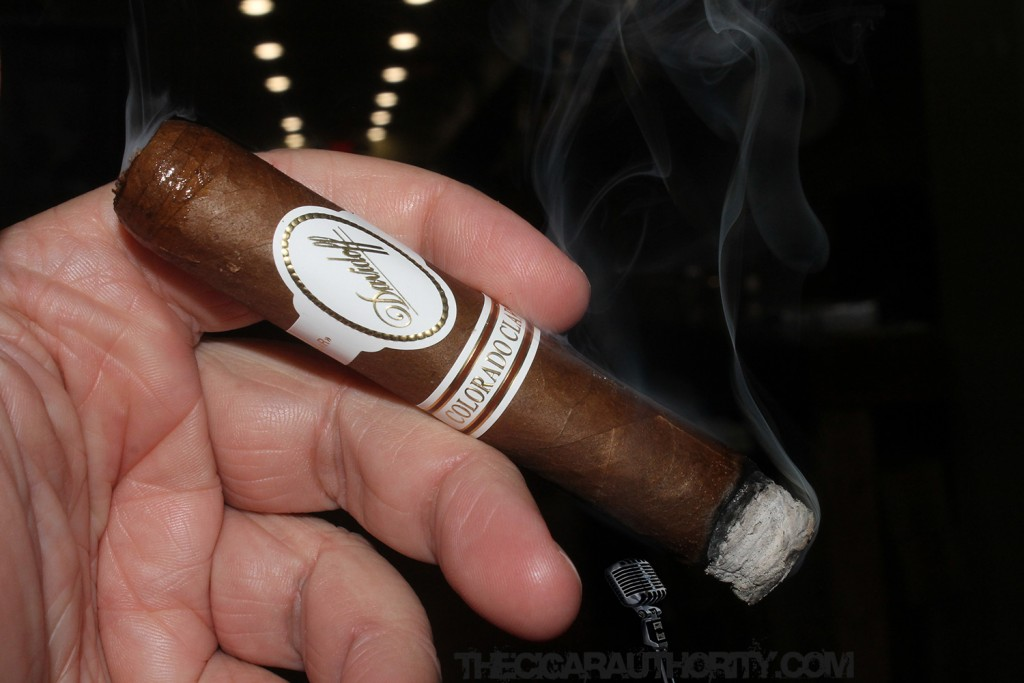 Davidoff Colorado Claro 2015 Burn