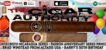 VODCast: Brad Winstead, Montecristo Nicaragua & Barry's Birthday!