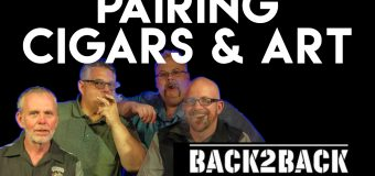 VODCast:  Pairing Cigars & Art With Back2Back