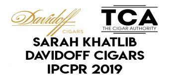 Day 1 IPCPR 2019: Sarah Khatib of Davidoff Cigars