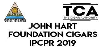 Day 1 IPCPR 2019: John Hart of Foundation Cigars