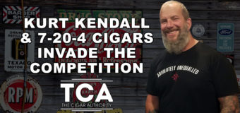 VODCast: Kurt Kendall & 7-20-4 Cigars Invade the Competition