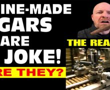 VODCast: Machine Made Cigars Are No Joke… Or Are They?