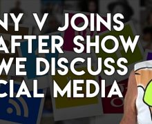 The After Show Talks To Tony V About Social Media & Cigars